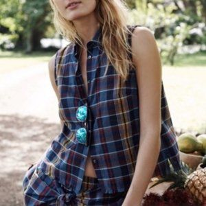 Madewell Moment Shirt in Madras Plaid